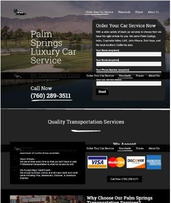 palm springs transportation